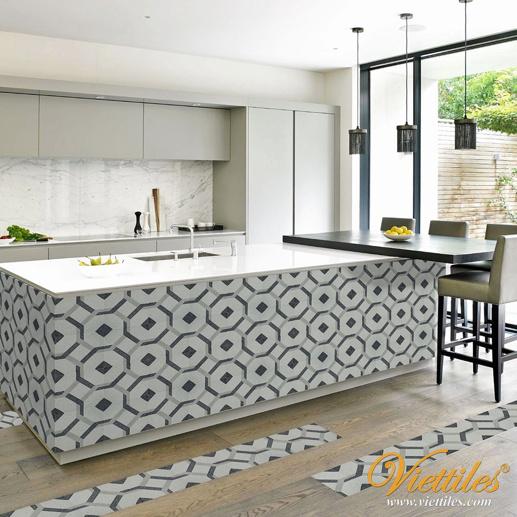 Terrazzo Cement Tile New Look For Handmade Tile