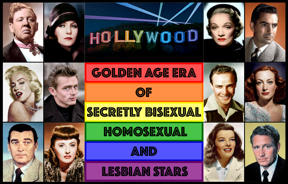Hollywoods Golden Age Era Of Secretly Bisexual, Homosexual And Lesbian Stars-4856
