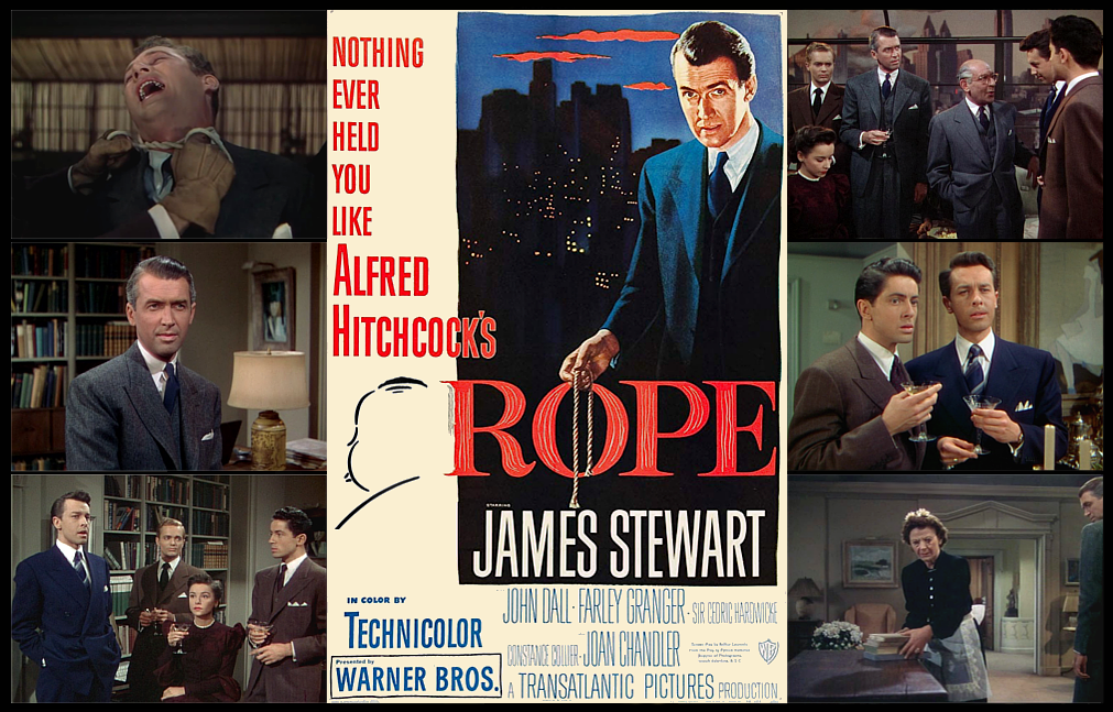 Image result for rope the movie poster