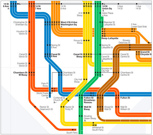 Massimo Vignelli Subway Map Connections.How Vignelli S Design Still Influences Nyc S Subway Maps Today