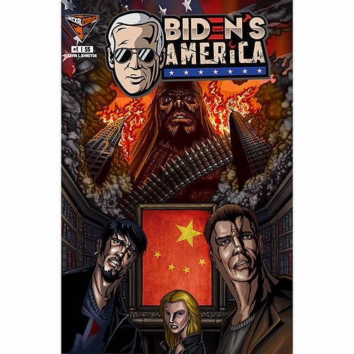 Cover Art for issue one of Biden's America.
