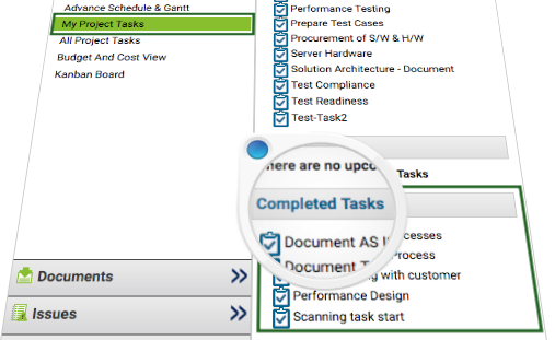 Tasks Completed In a Project - KPI for Team Member