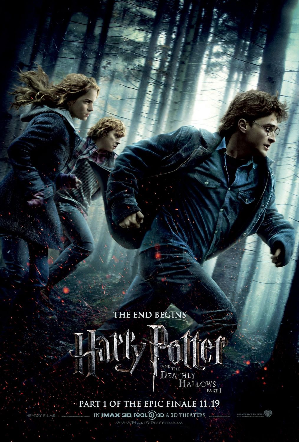 Harry Potter and the Deathly Hallows Part 1 Analysis/Review