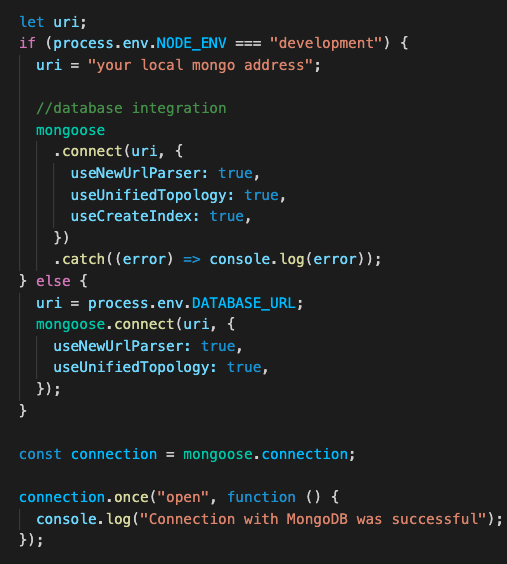 Code editor with lines of code