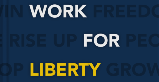 work for liberty book cover launch libertarian jobs work