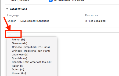 Localization in iOS tutorial using Swift - Cali's Tech Blog