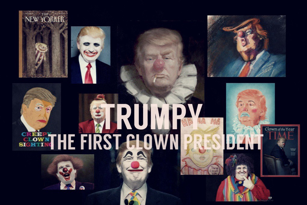 Image result for republicans afraid of clowns