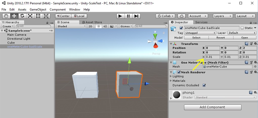 How to export an FBX from Maya LT to Unity at the correct scale