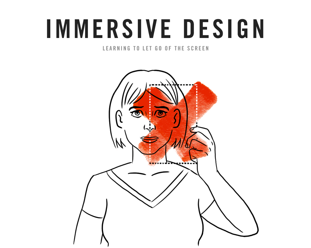 This is a brilliant read on how we should approach designing for virtual reality.