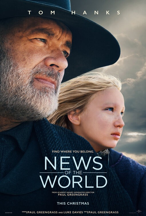 News of the World movie poster | Universal Pictures