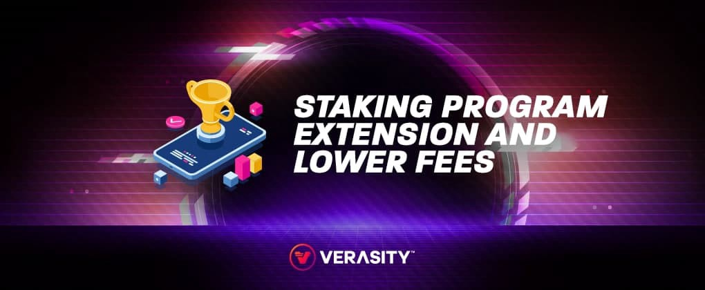Staking Program Extended to 2022 and Lower Withdrawal Fees