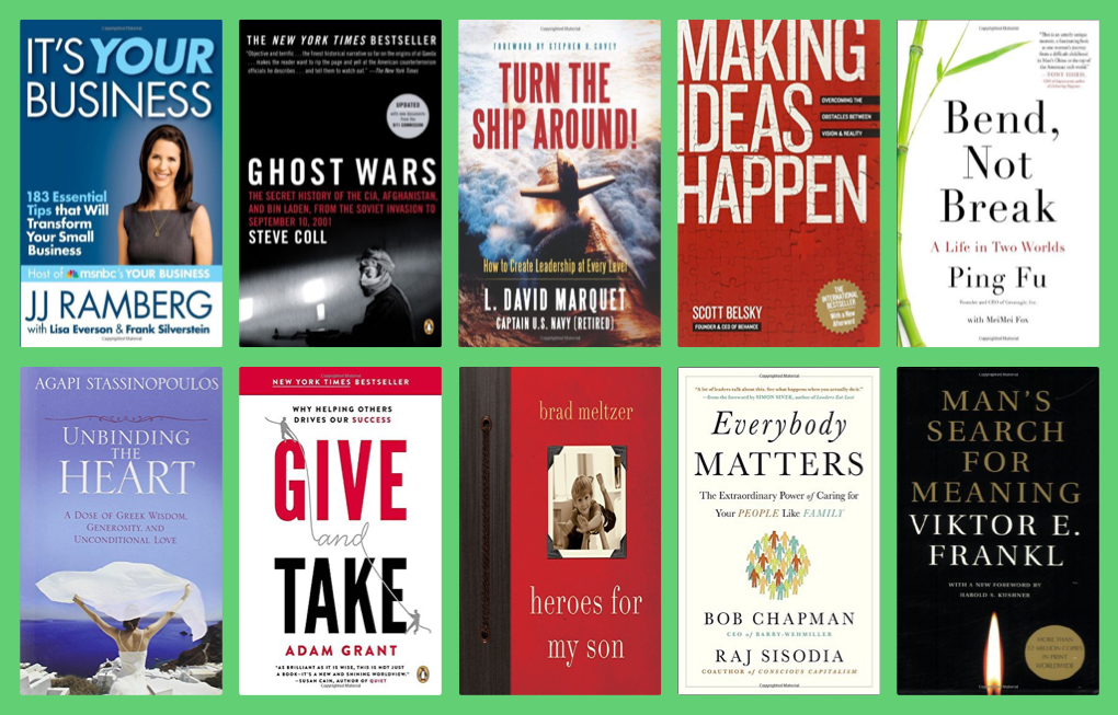 10 Books Recommended By Simon Sinek