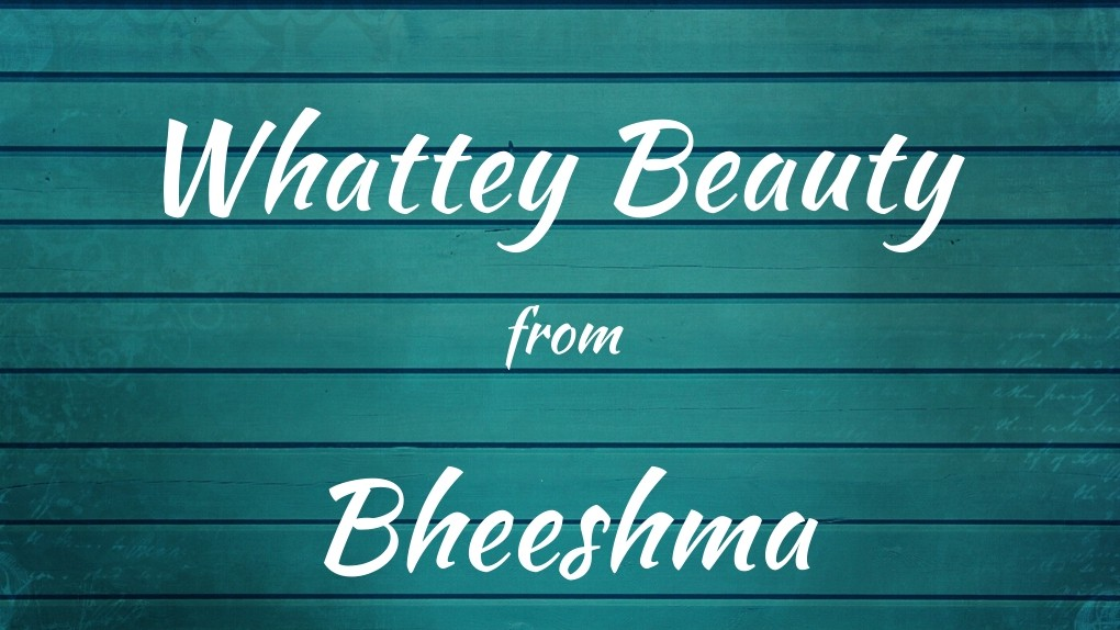 Whattey Beauty Lyrics From Bheeshma Ft Nithiin Rashmika By Lyricspedia Medium