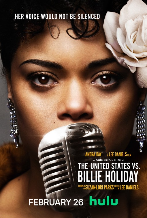 The United States vs. Billie Holiday movie poster | Hulu