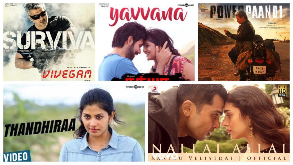 Best Tamil Songs 2017- The Annual Tamil Film Music Round-Up