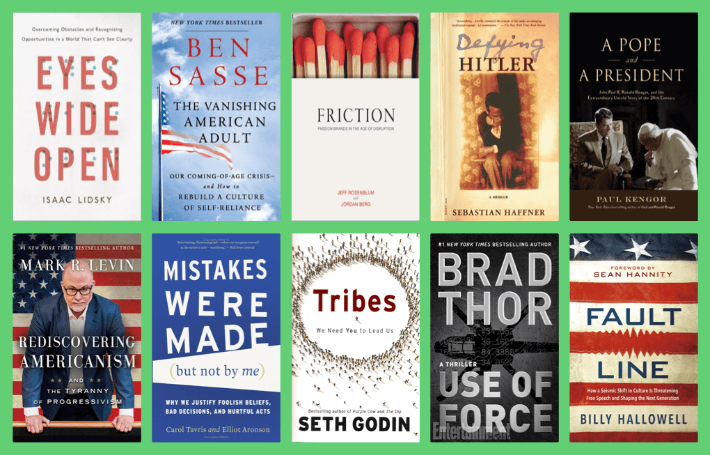 10 Book Recommendations by Glenn Beck - ParrotRead