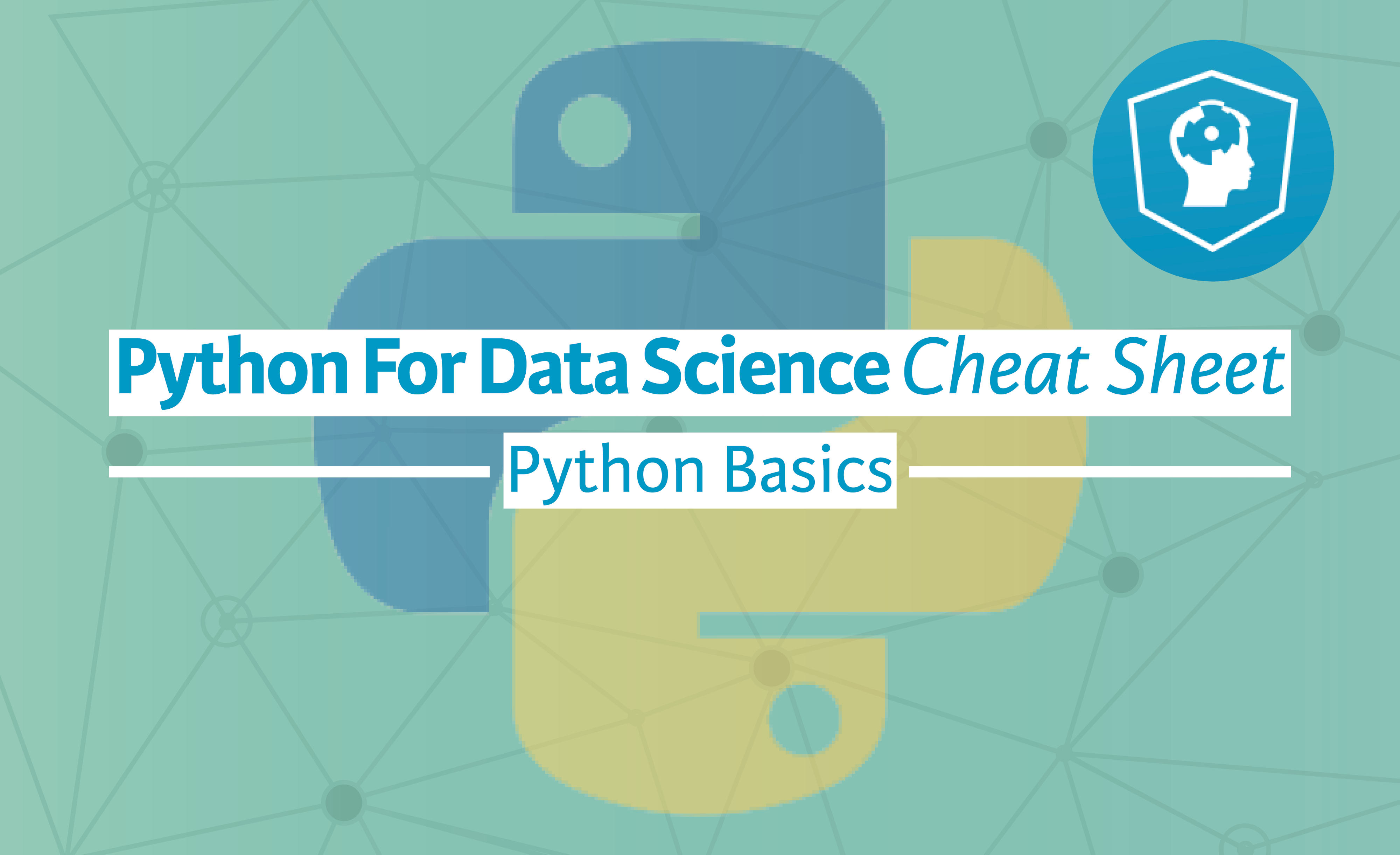 Python For Data Science — A Cheat Sheet For Beginners
