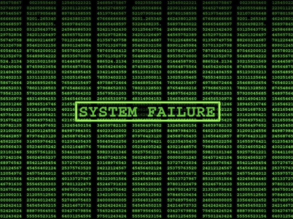 Complex System Failure: The Whole Is More Than the Sum of Its Parts