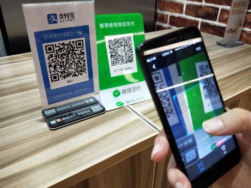 Over 80% of smartphone users in China prefer doing payments thru mobile rather than physical cash