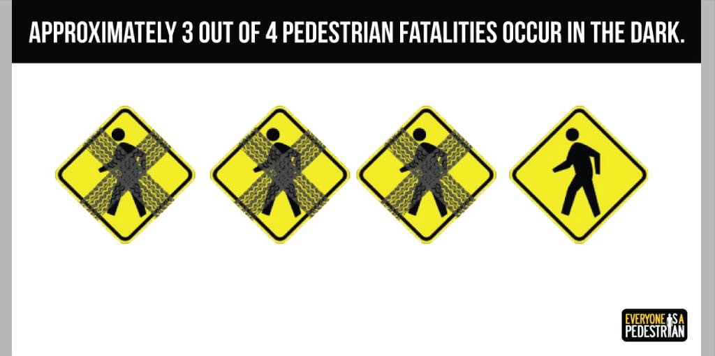 Why myths about drunk pedestrians killed in the dark may be so important to traffic authorities.