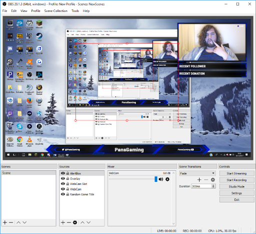 Setting up and organising your scene in OBS - Adshot - Medium