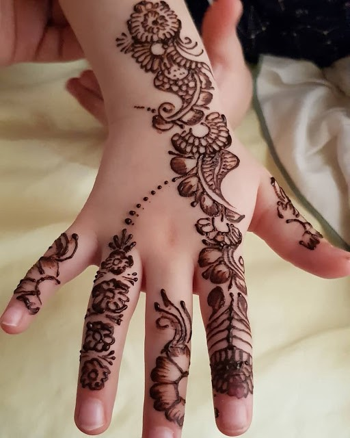 Mehndi Designs For Kids Hello Friends Mehndi Creation Welcomes By Mehndi Creation Medium