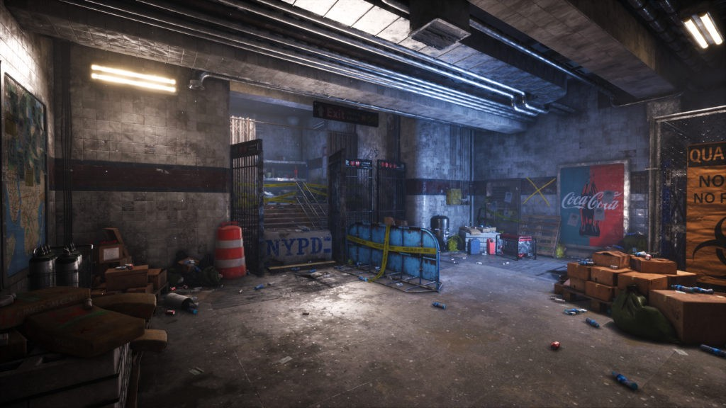 Recreating The Division In Ue4 Stefan Oprisan Shared A Detailed By 80level Medium