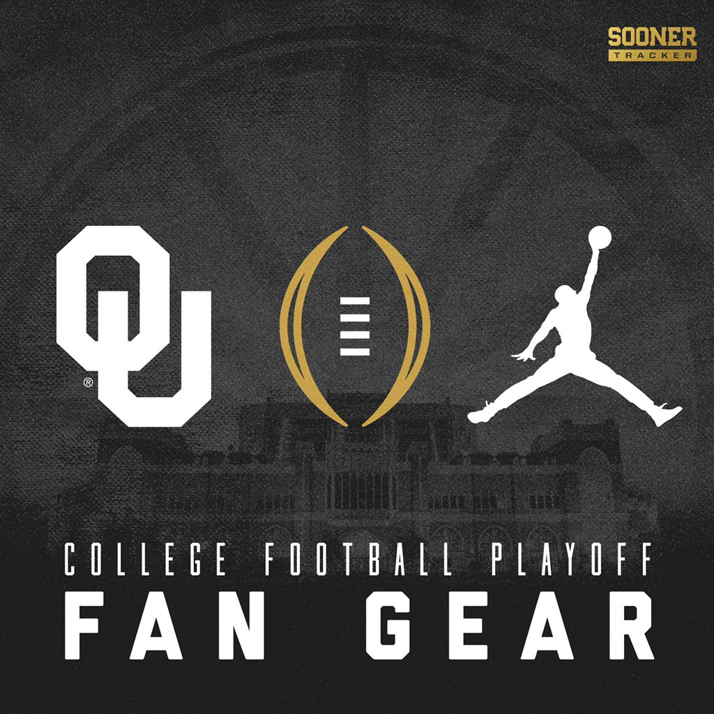 Oklahoma Sooners College Football Playoff Fan Gear ...