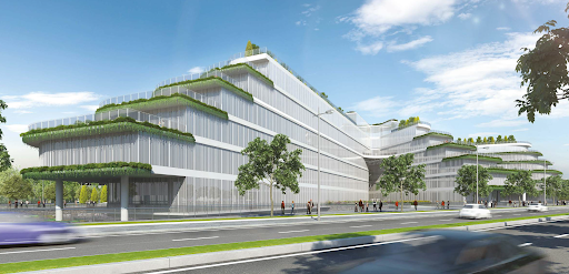 Rendering of Vietnam National Innovation Center
