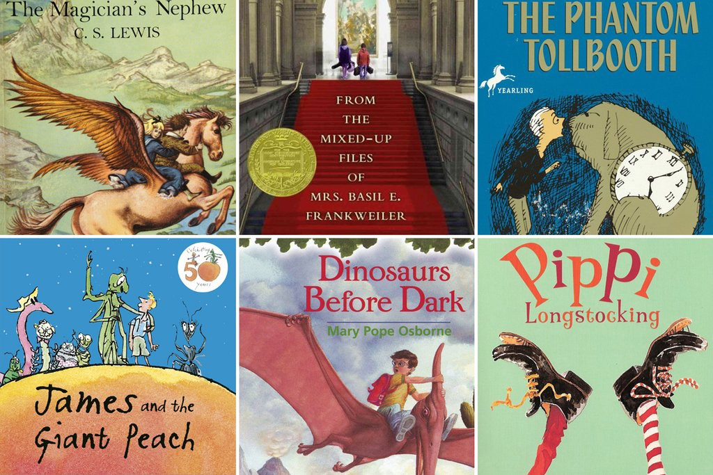 20 Chapter Books To Read Aloud With Your Kids Thrive