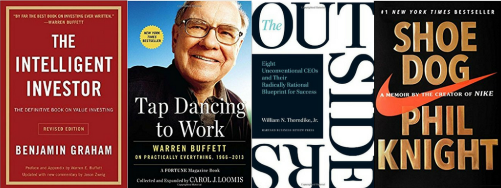 Investment books recommended by warren buffett fidelity investments charleston south carolina