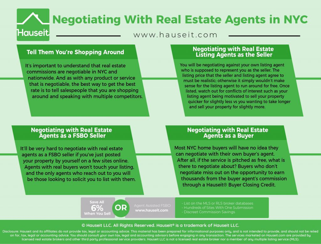 How to Negotiate with Real Estate Agents in NYC - Hauseit