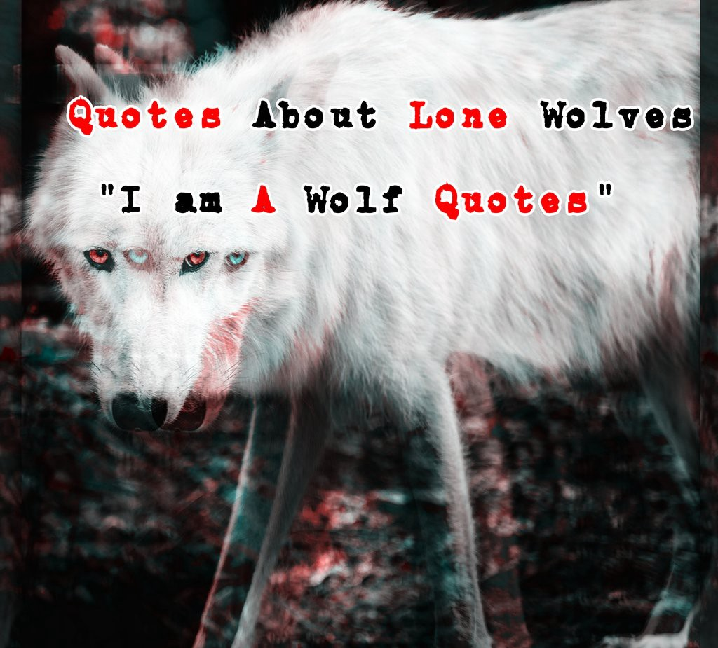 """Quotes About Lone Wolves """"I am A Wolf Quotes"""" - ATX Fine ..."""