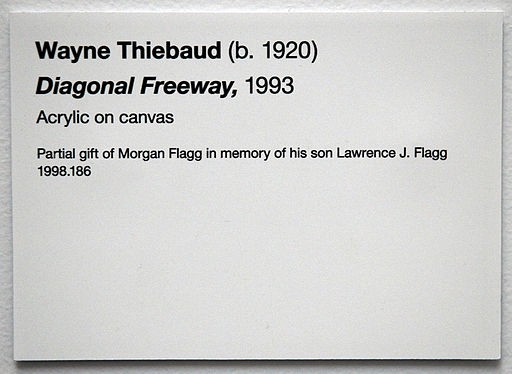 wall labels for art