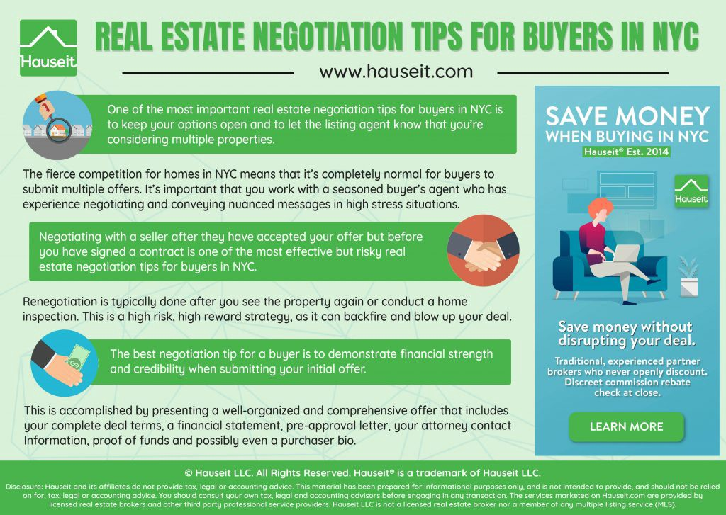 Negotiation Tips for Home Buyers in NYC - Hauseit - Medium