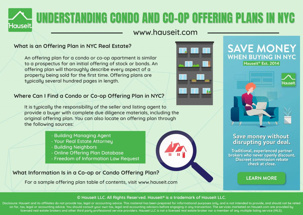 Guide to Co-op and Condo Offering Plans in NYC - Hauseit