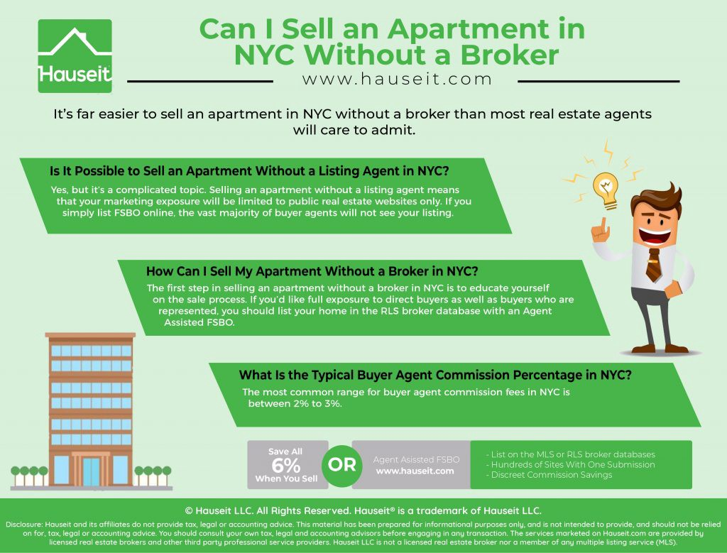 Selling an Apartment Without a Broker in NYC - Hauseit - Medium