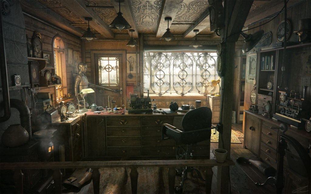 Picture of: Capturing The Essence Of Syberia In 3d Art By 80level Medium