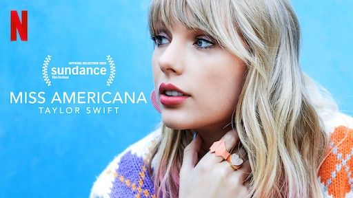 Film poster for Taylor Swift documentary 'Miss Americana'