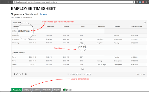 Create The Perfect Employee Timesheet System In Php And Mysql By Richard Medium