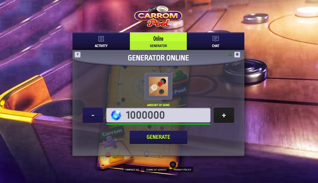 Disc Pool Carrom Hack Mod Gems and Coins Unlimited - disc