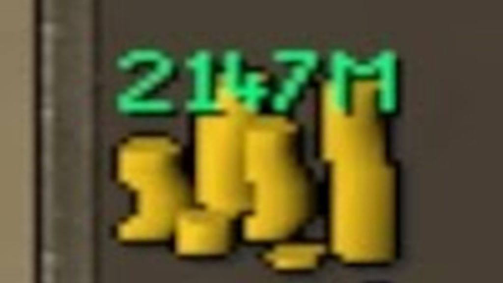 How the Cash Stack Max 2 147 bn is Implemented in RuneScape