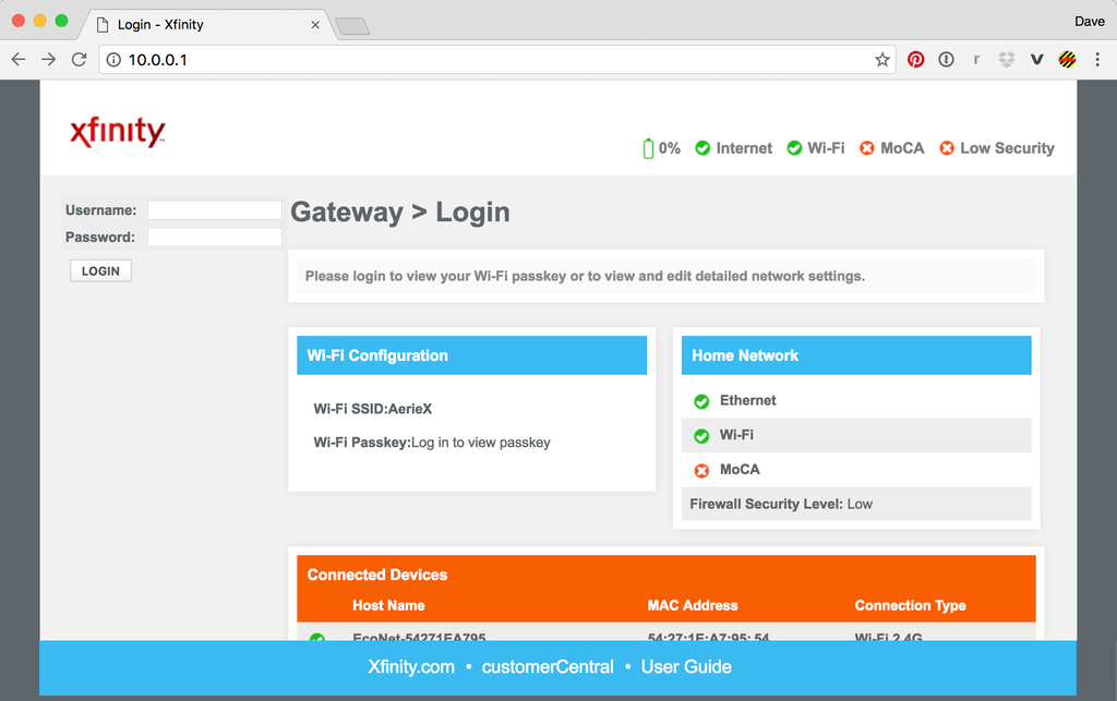 10 How to Login 10 0 0 1 IP Address (Default Gateway) with