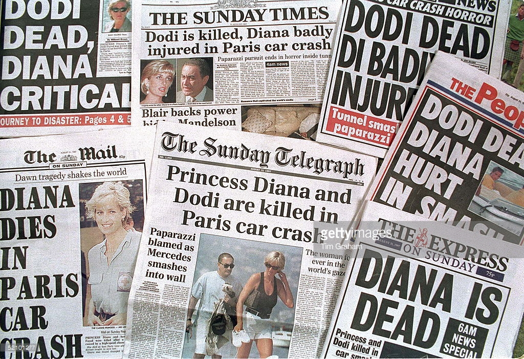 The Day Princess Diana Died It Was A Surreal Atmosphere In London