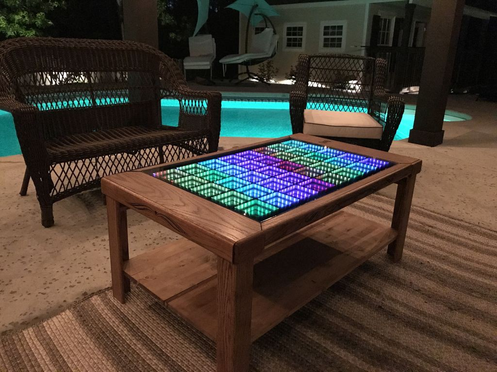 This Led Coffee Table Takes Your Home Decor To Infinity And Beyond By Hackster Staff Hackster Blog Medium