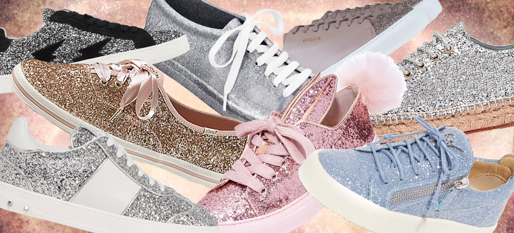 Glitter Sneakers You'll Wanna Dazzle