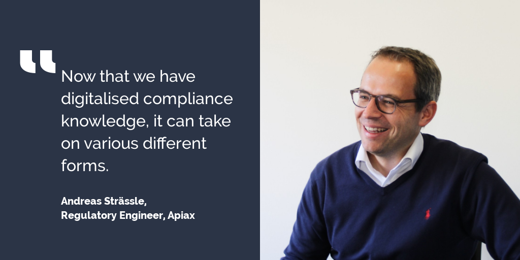 Compliance by design explained by Apiax Regulatory Engineer