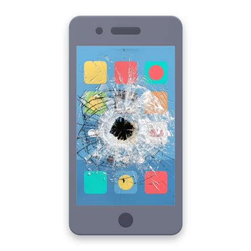 Trap your Friends with Broken Screen Prank for Android