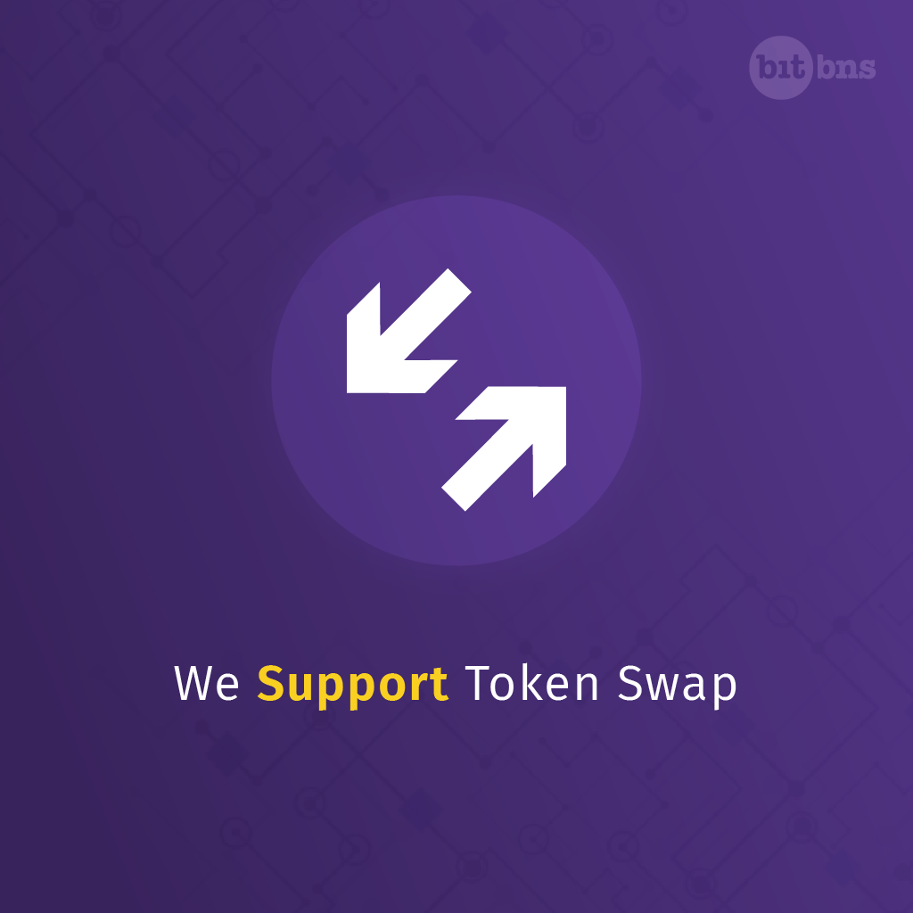 How To Do Eos Tron Token Swap On Bitbns By Bitbns Bitbns Medium