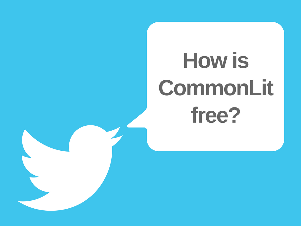Why CommonLit Will Always Be Free for Teachers and Students